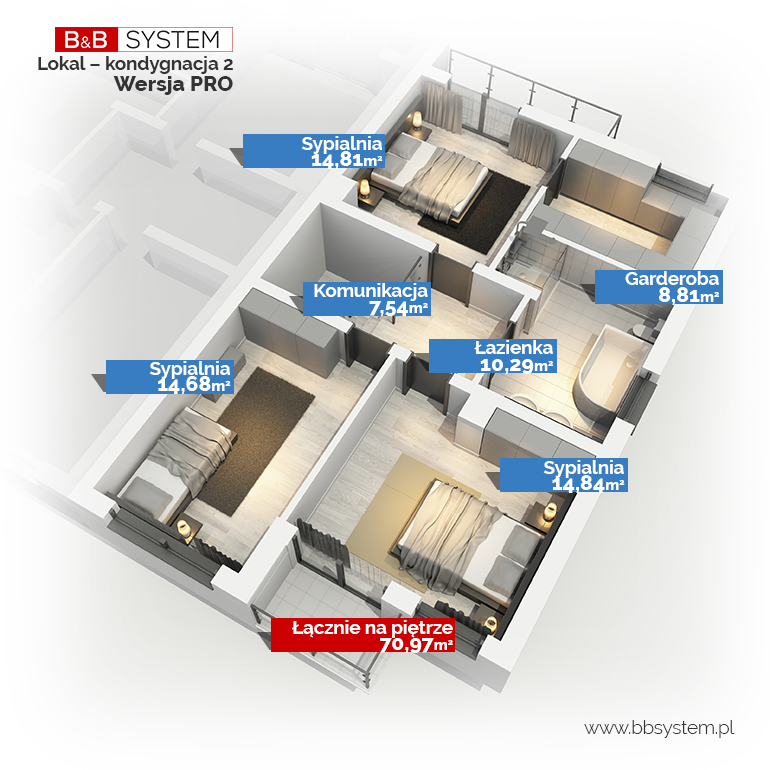 B&B System piętro- wersja PRO
